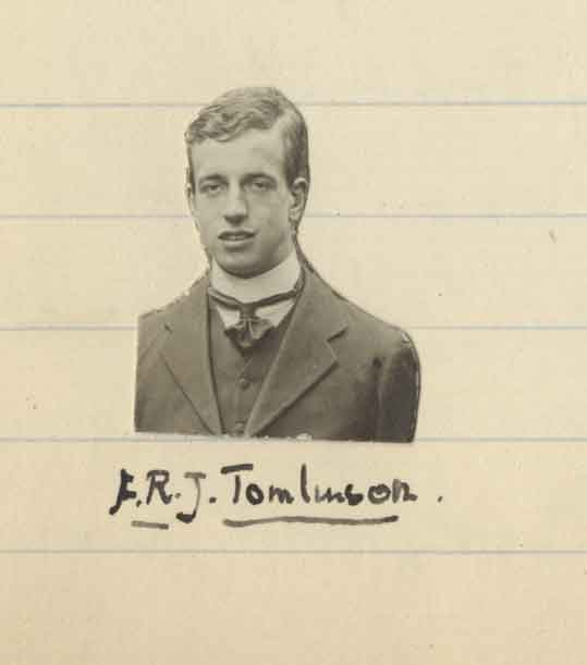 Photograph of Tomlinson