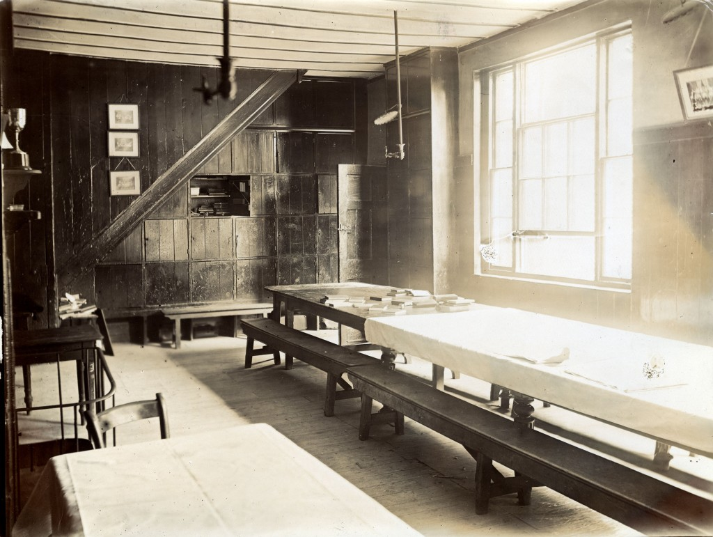 Photograph of the Hall in Grant's House