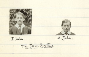 Photograph of the John Brothers