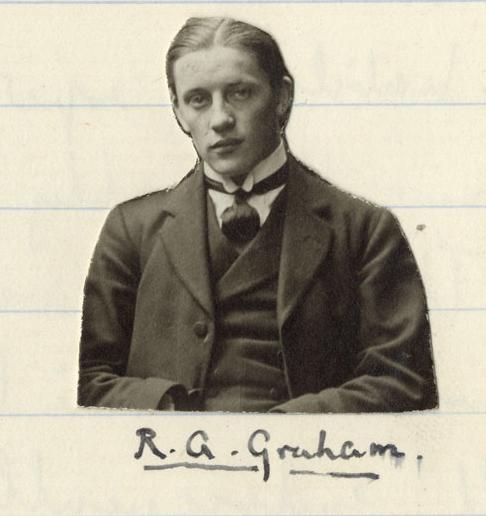 Photograph of Graham