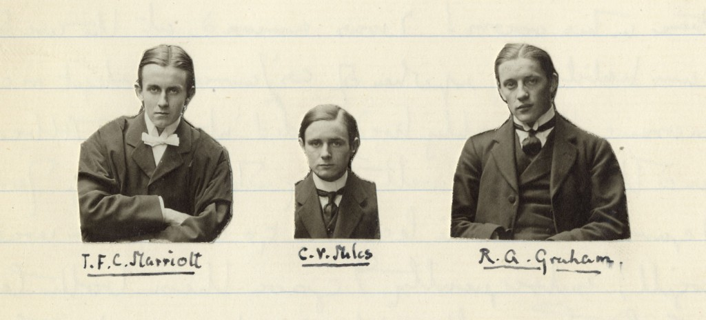 Photographs of Marriott, Miles and Graham